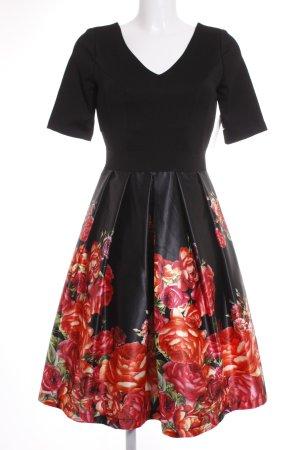 Rinascimento Abendkleid florales Muster 50ies-Stil