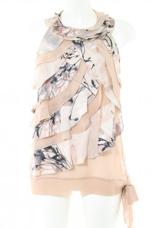 Rinascimento ärmellose Bluse Blumenmuster Casual-Look