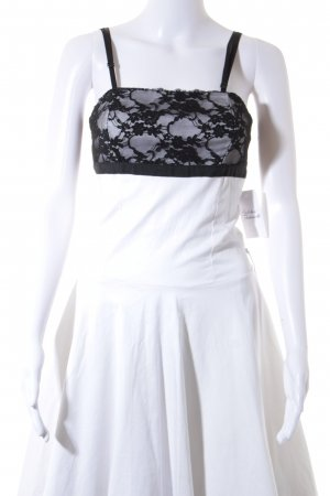Rinascimento Babydoll Dress natural white-black '50s style