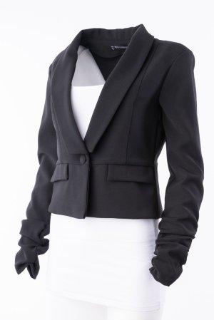 RINASCIMENTO - Blazer in Schwarz mit V-Ausschnitt