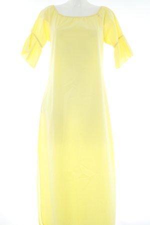 Rinascimento Blusenkleid gelb minimalistischer Stil