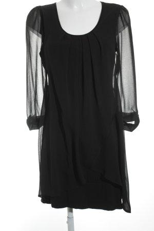 Rinascimento Blusenkleid schwarz Street-Fashion-Look