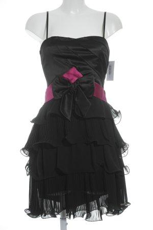 Rinascimento Cocktailkleid schwarz-magenta Elegant
