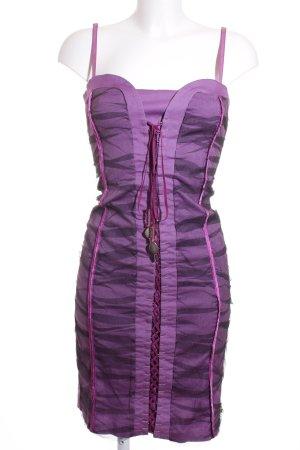 Rinascimento Corsagenkleid lila-dunkelviolett Party-Look