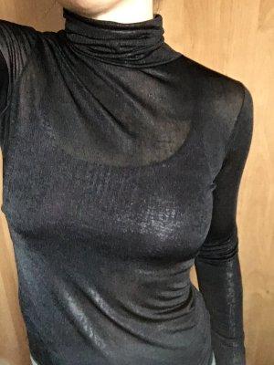 Rinascimento Turtleneck Shirt black