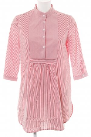 Rinascimento Hemd-Bluse rot-weiß Streifenmuster Casual-Look