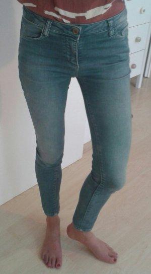 R Jeans Jeans 7/8 multicolore coton