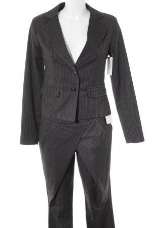 Rinascimento Traje de pantalón gris antracita-gris claro raya diplomática