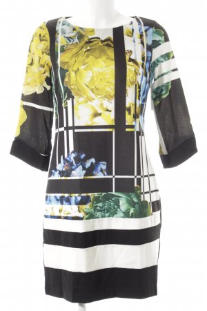 Rinascimento Jerseykleid florales Muster extravaganter Stil