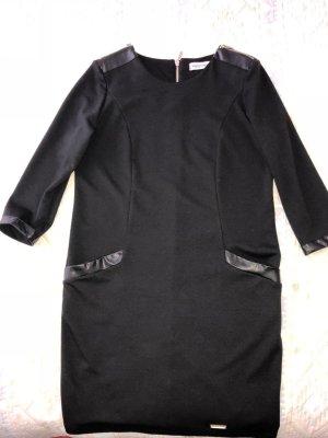 Rinascimento Stretch jurk zwart Polyester