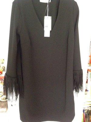 Rinascimento Kleid, schwarz, Gr. S, NEU, Fransen, Party, festlich, Ausgehen
