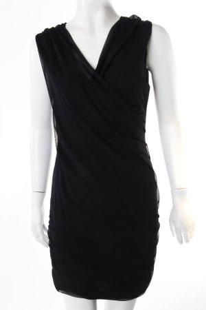 Rinascimento Kleid schwarz Netzoptik