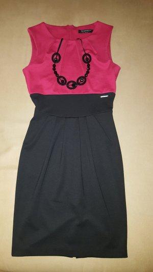 Rinascimento Kleid Schwarz/Rot + Bolero + Kette ) 1 mal getragen in Gr. S Italy