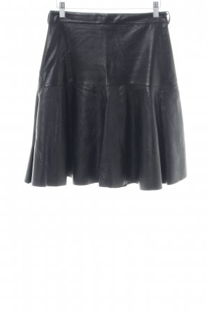 Rinascimento Faux Leather Skirt black casual look