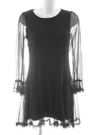 Rinascimento Langarmkleid schwarz Elegant