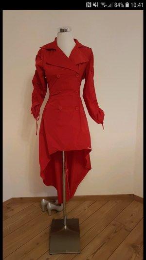 Rinascimento Robe manteau rouge foncé