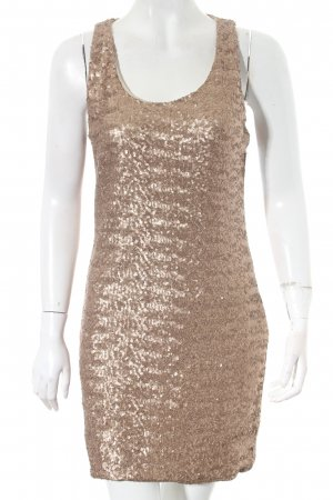 Rinascimento Pailettenkleid goldfarben Party-Look
