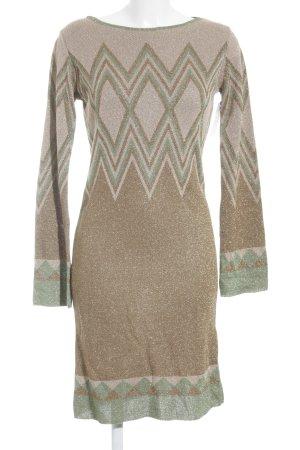 Rinascimento Sweater Dress multicolored glittery