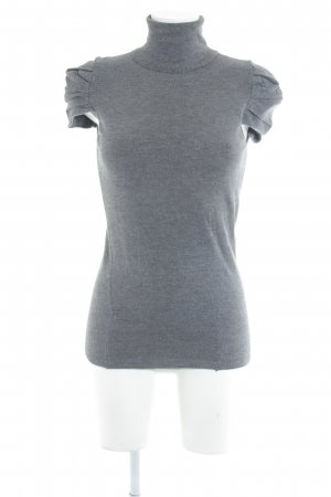 Rinascimento Turtleneck Shirt grey casual look
