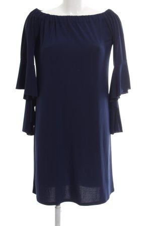 Rinascimento schulterfreies Kleid blau Business-Look