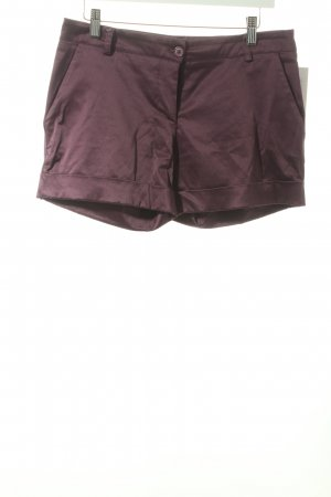 Rinascimento Shorts dunkelviolett schlichter Stil