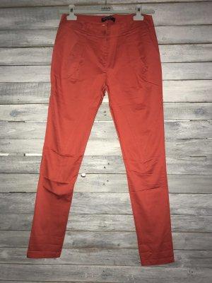 Rinascimento Pantalone peg-top rosso