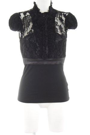 Rinascimento Spitzenbluse schwarz Casual-Look