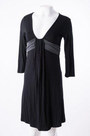 RINASCIMENTO - Stoffkleid mit Schnürung am Rücken Schwarz