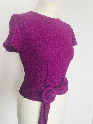 Rinascimento Knitted Jumper purple