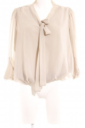 Rinascimento Transparenz-Bluse beige Casual-Look