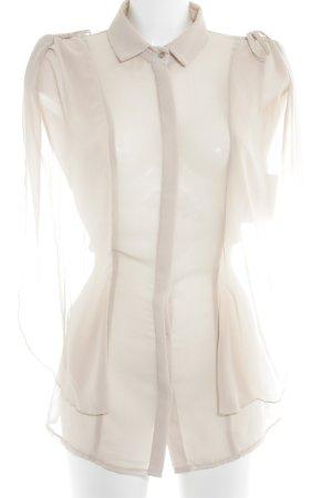 Rinascimento Transparenz-Bluse creme Casual-Look