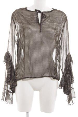 Rinascimento Transparenz-Bluse Allover-Druck Elegant