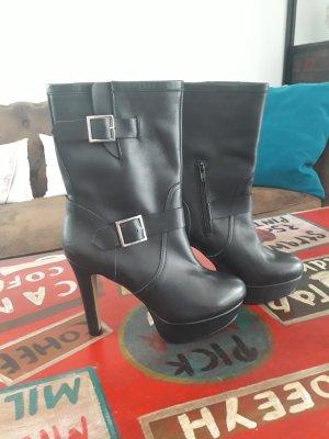Rind Leder Stiefel neu Hohe Qualität