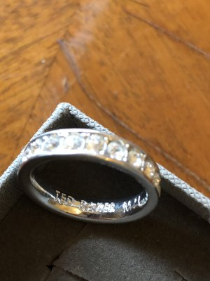 Ted baker Silver Ring silver-colored