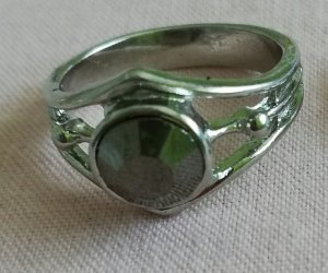 Silver Ring anthracite-light grey