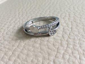 Ring 925 gestempelt mit Herzchen