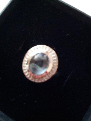 Ring 925 Sterling Silber mit blauen Topas