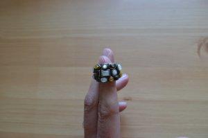 Ring, 925er Silber, Perlmutt, Eclipse