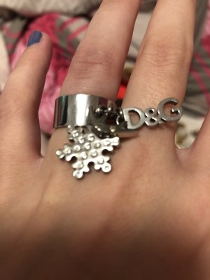 Dolce & Gabbana Silver Ring silver-colored