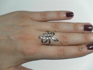 Ring aus echtem Silber: Schlange