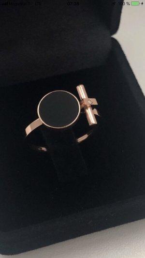 Statement Ring rose-gold-coloured-black