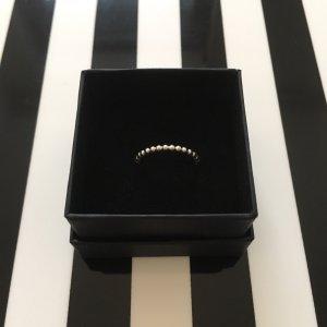 Ring aus Perlen-Kugeln    925er Sterling Silber