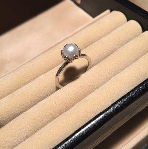 Ring aus Sterlingsilber mit Süßwasserzucht-Perle von Pandora
