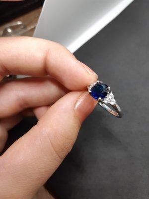 Ring Blau