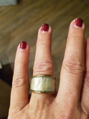 Ring creme /gold Neu