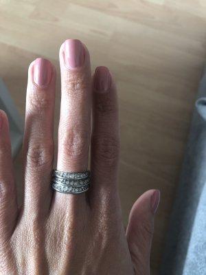 DKNY Zilveren ring zilver