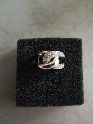 Fossil Ring silver-colored