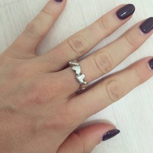 Ring endless love Herzen Echtsilber echtschmuck