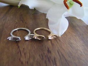 Ring Engelsflügel gold vergoldet NEU