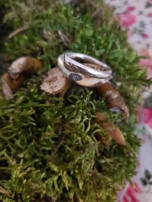 ××× Ring Fossil 925 ×××